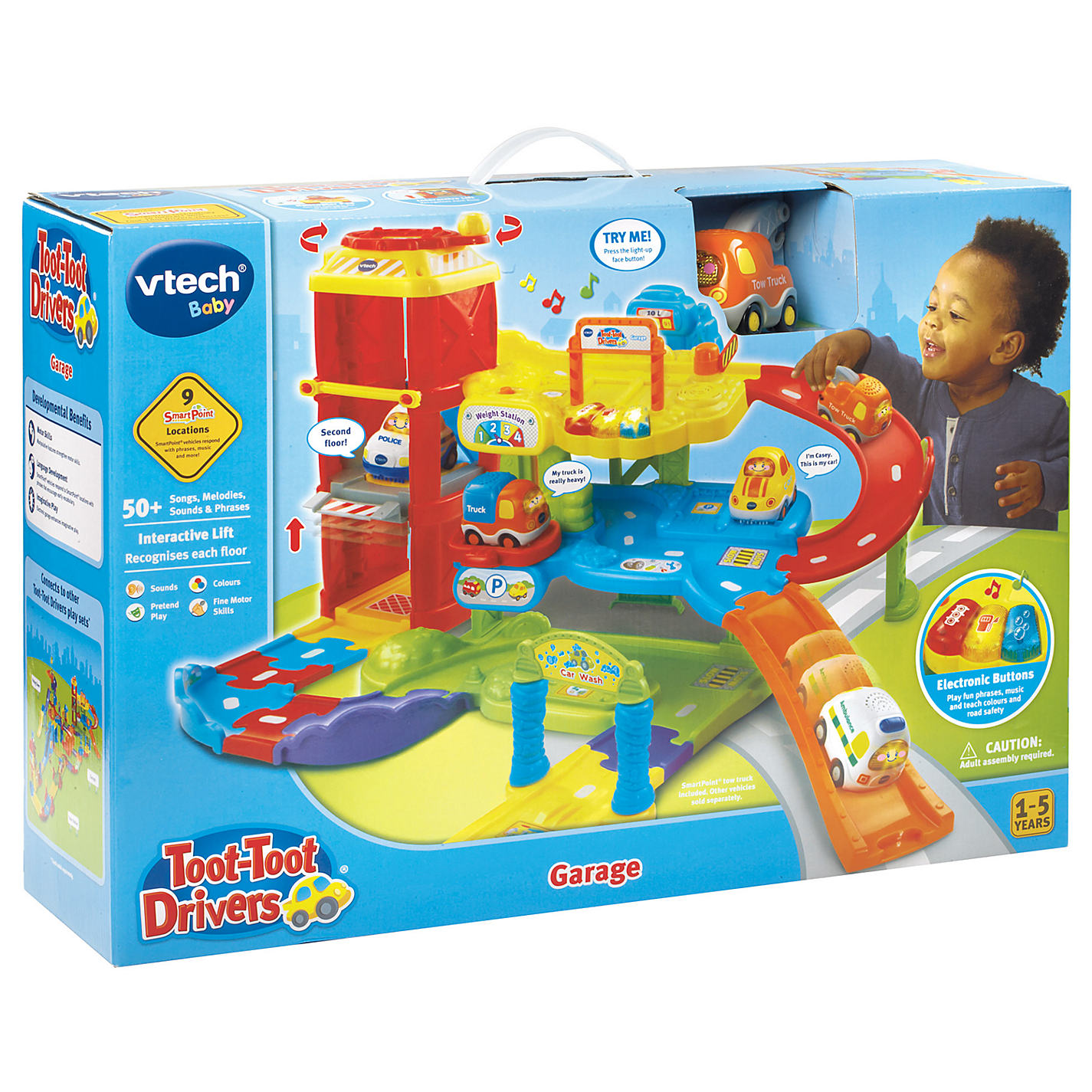 Buy VTech Toot Toot Drivers Garage Set