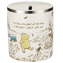 Buy Winnie The Pooh Barrel Bank Online at johnlewis.com