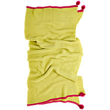 Buy bluebellgray Cotswold Throw, Lime Green Online at johnlewis.com