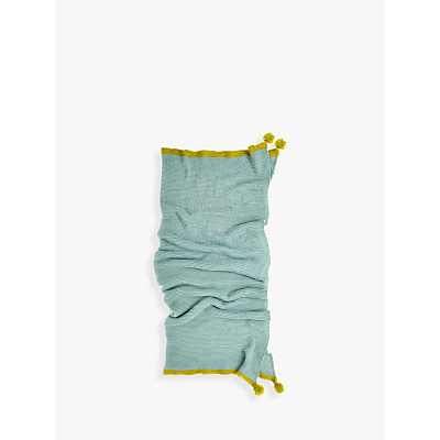 bluebellgray Cotswold Throw, Duck Egg