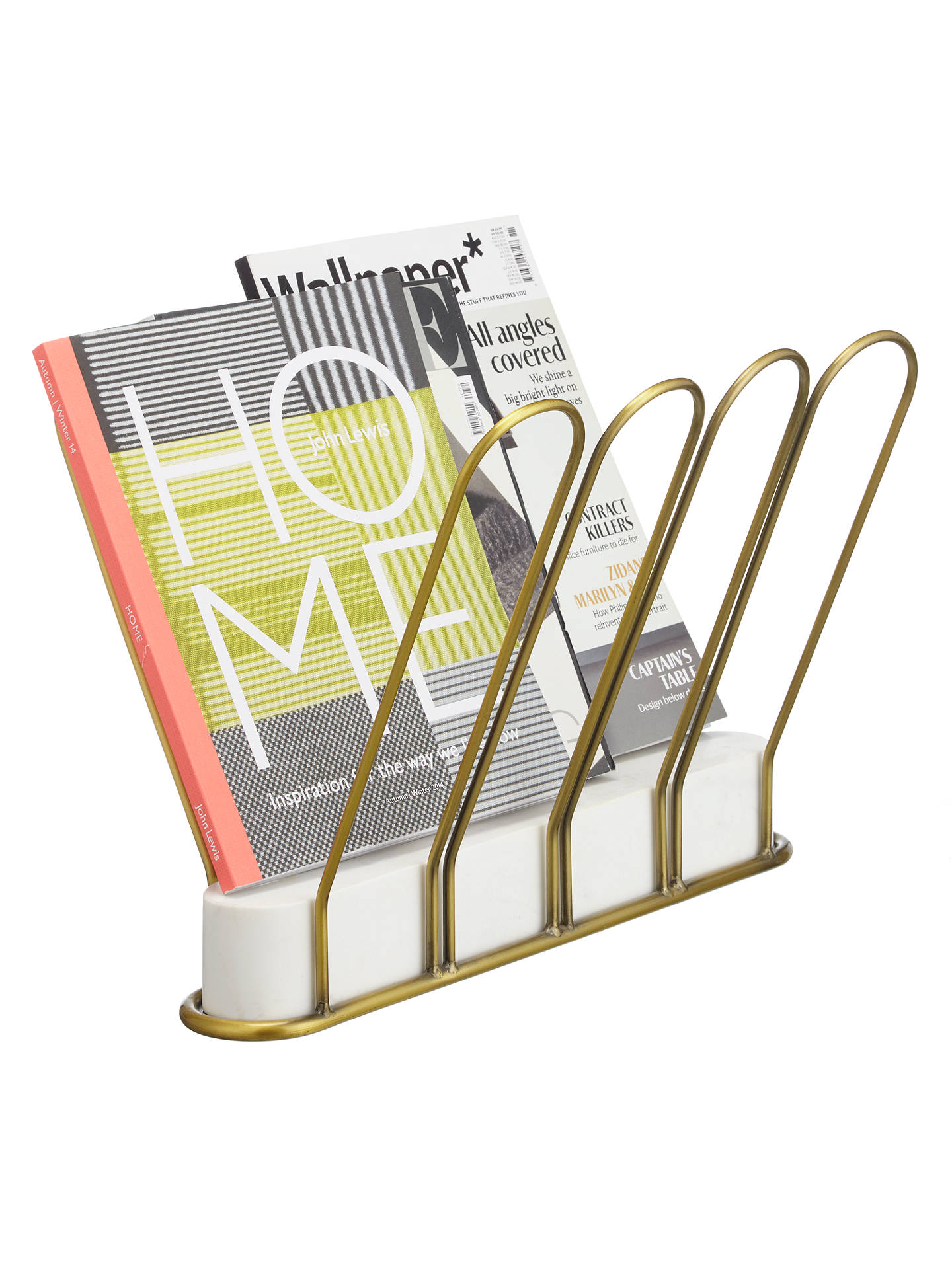Buy John Lewis Boutique Hotel Magazine Rack Online at johnlewis.com