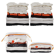 Buy neatfreak Double Gusset Vacuum Storage Bags, Pack of 2 Online at johnlewis.com