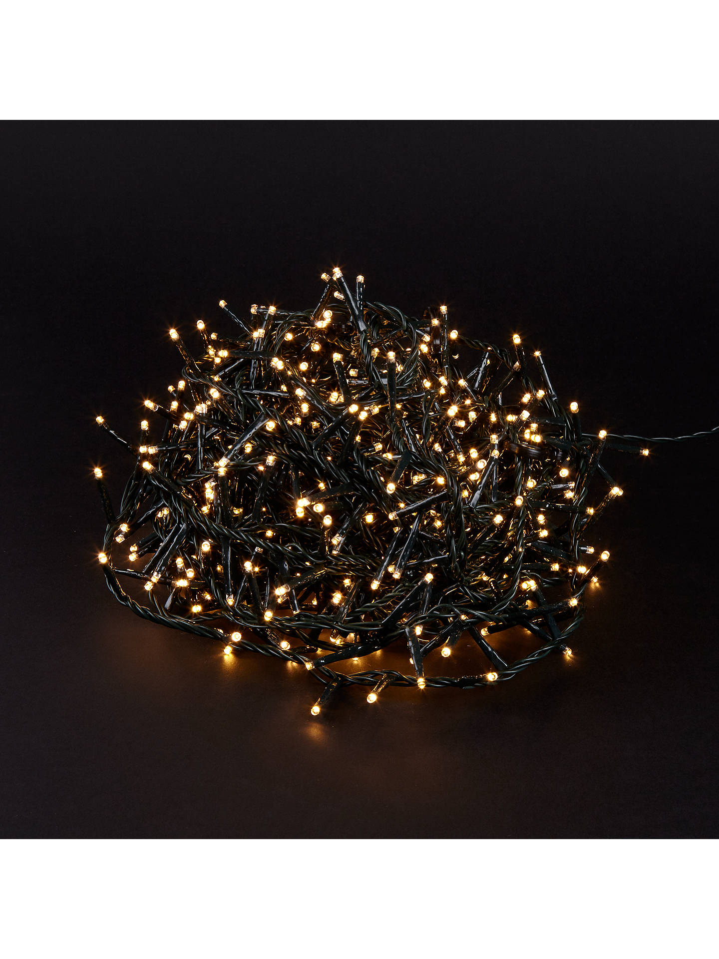 Buy1-2-Glow 700 LEDs Indoor / Outdoor Christmas Lights for 210cm Trees, Classic Soft White Online at johnlewis.com