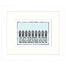 Buy East of India - Be Beside The Seaside, 27 x 23cm Online at johnlewis.com