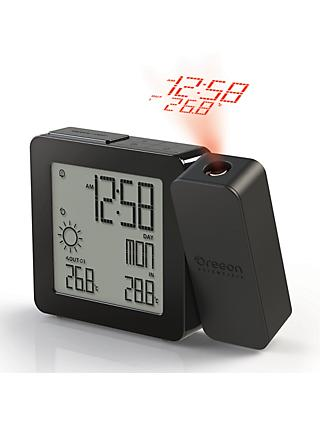 Oregon Scientific Projection Alarm Clock with Weather Forecasting, Black