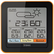 Buy Oregon Scientific Multi-Zone Weather Station, Black Online at johnlewis.com