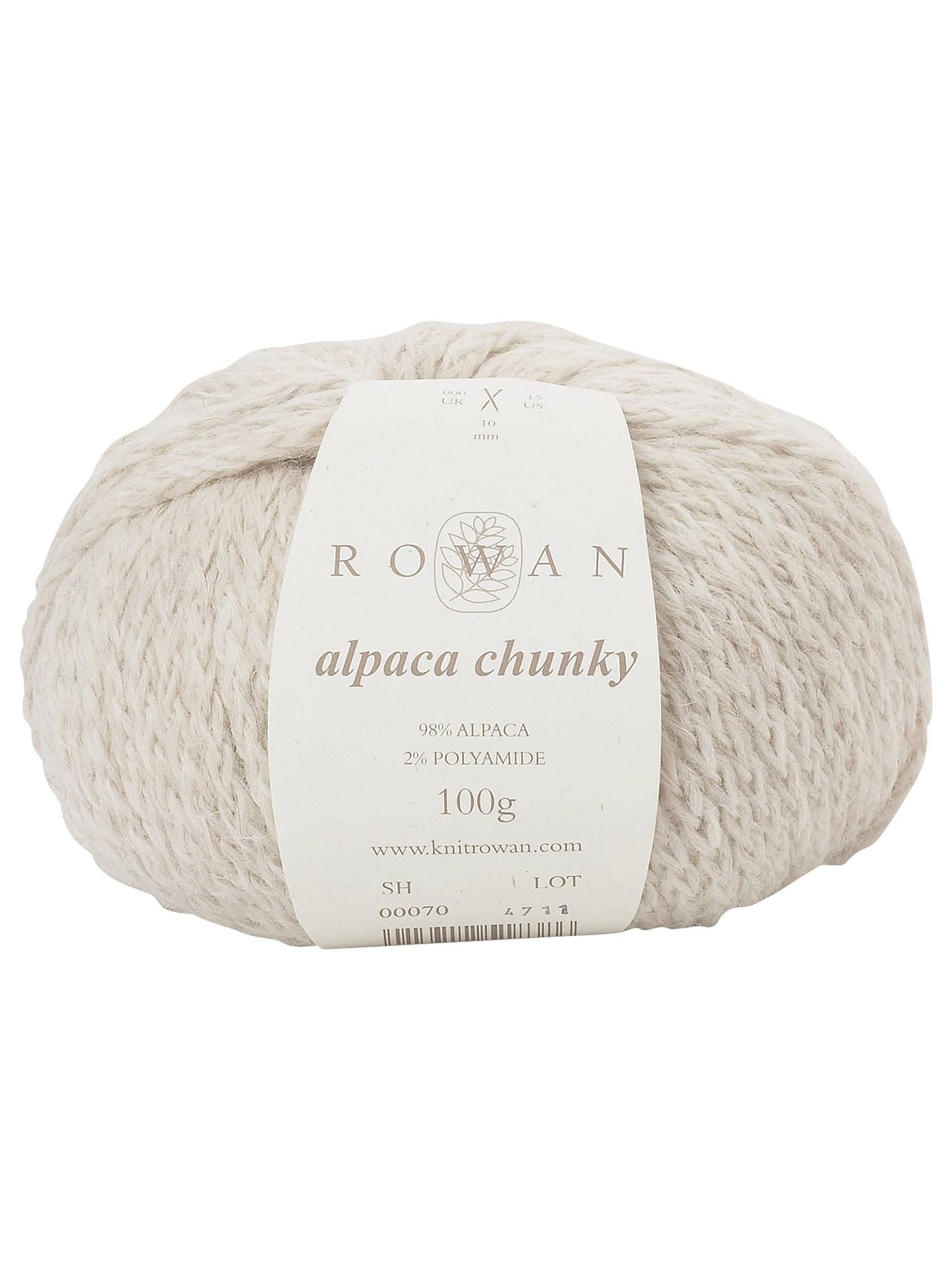 6f69e21db2e Buy Rowan Alpaca Chunky Yarn