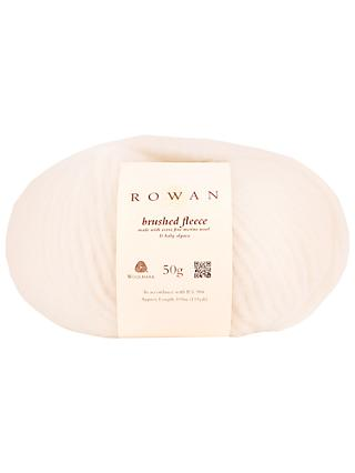 Rowan Brushed Fleece Chunky Yarn, 50g