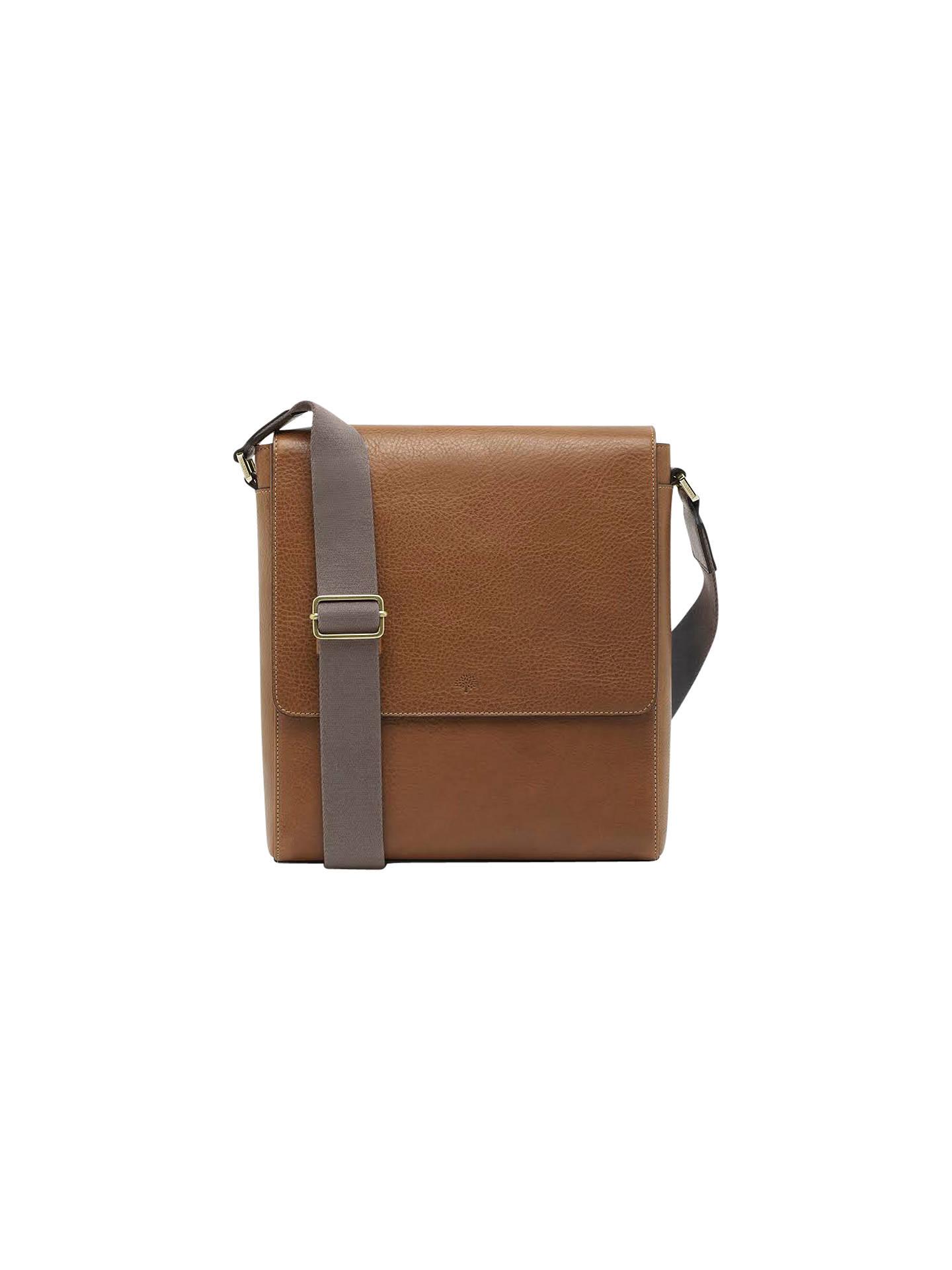 ae8698cf712 Buy Mulberry Maxwell Slim Messenger Bag, Oak Online at johnlewis.com