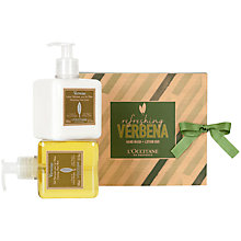 Buy L'Occitane Refreshing Verbena Hand Wash & Lotion Duo Online at johnlewis.com