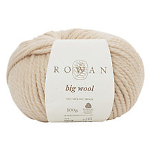 Buy Rowan Big Wool Chunky Merino Yarn, 100g Online at johnlewis.com