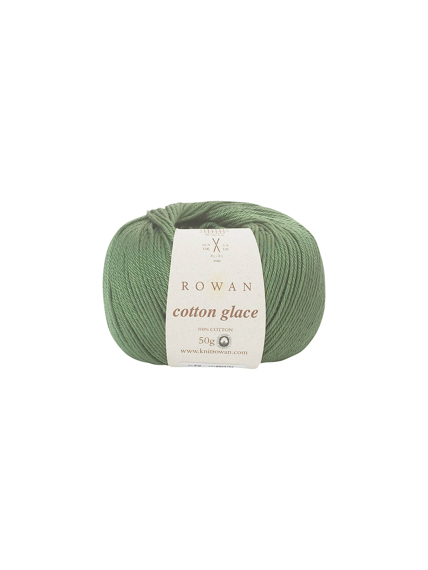 Buy Rowan Cotton Glace Yarn, 50g, Ivy 812 Online at johnlewis.com