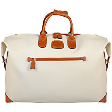 Buy Bric's Firenze Small Holdall, Cream Online at johnlewis.com