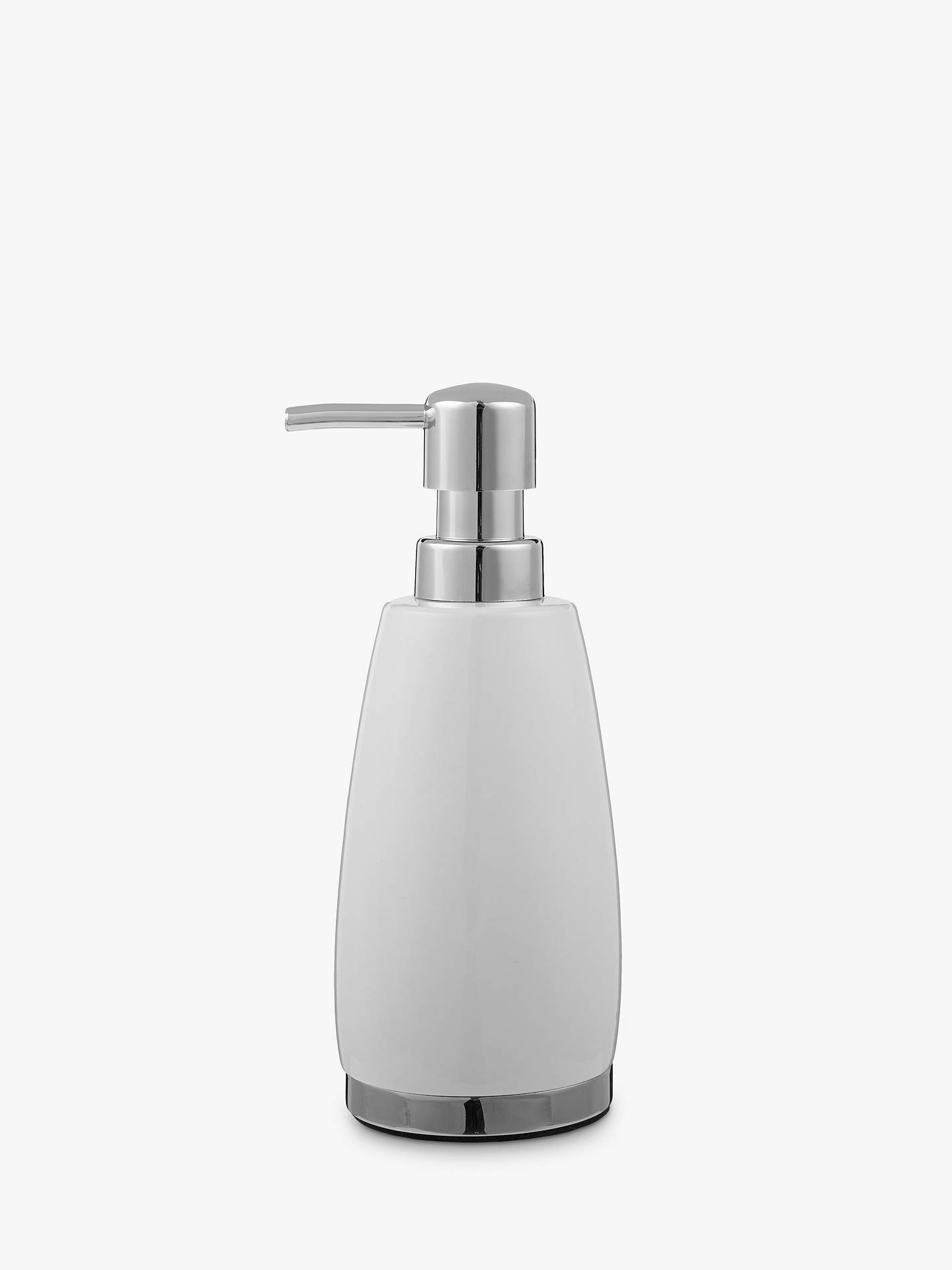 Buy John Lewis & Partners London Ceramic Soap Dispenser, White Online at johnlewis.com