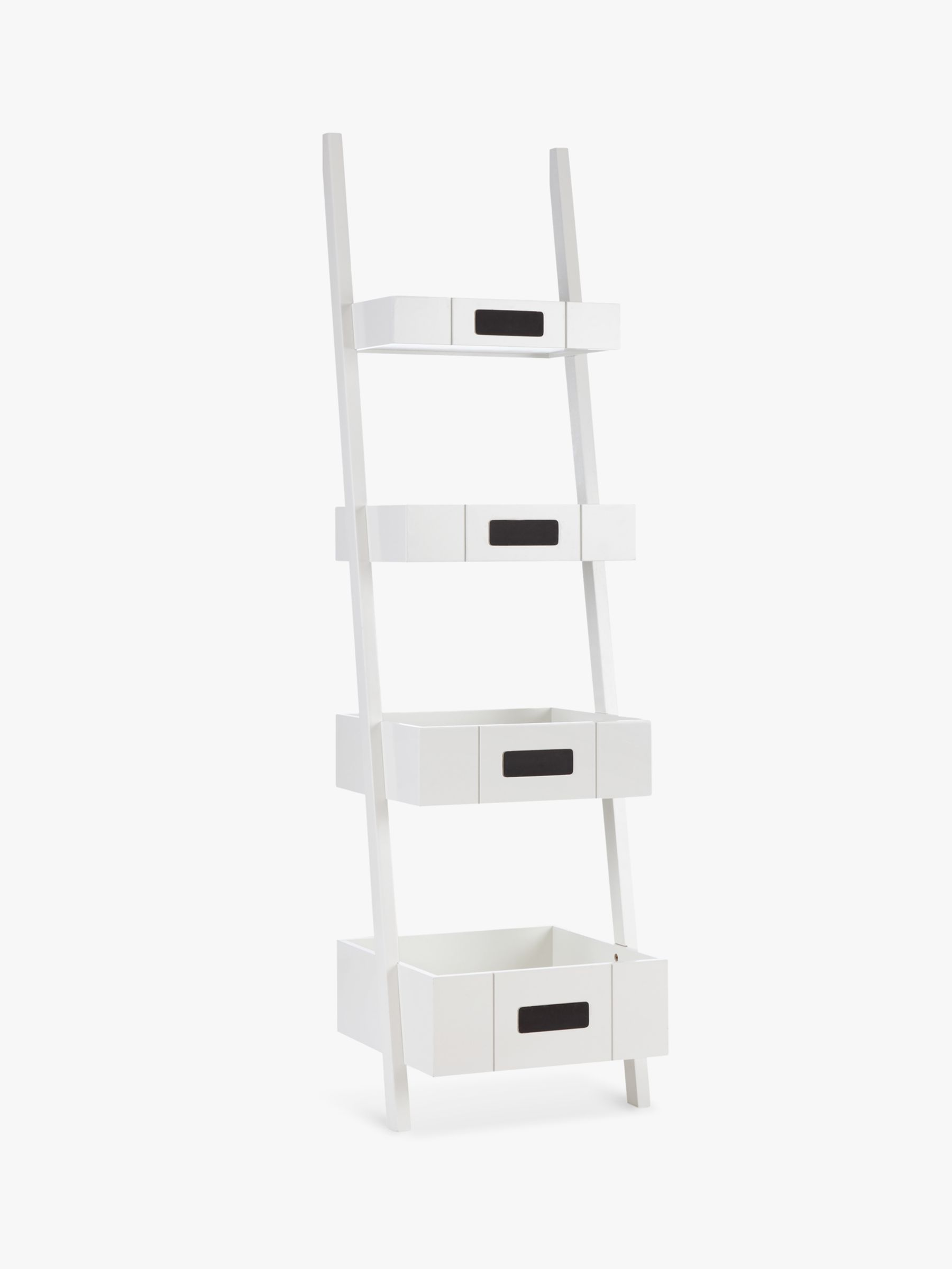 John Lewis Partners St Ives Ladder Shelf White
