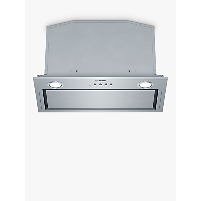 Image of Bosch DHL575CGB Canopy Cooker Hood, Brushed Steel