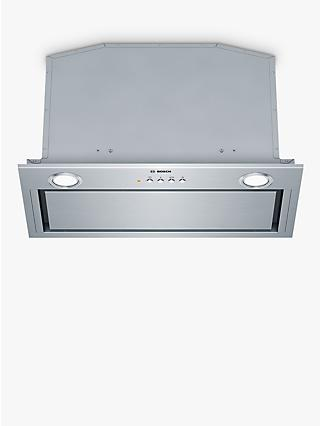 Bosch Serie 6 DHL575CGB 52cm Canopy Cooker Hood, Brushed Steel
