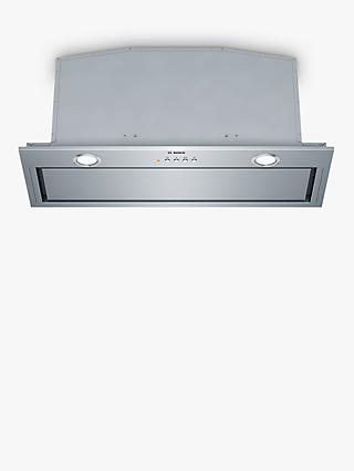Bosch DHL785CGB 70cm Canopy Cooker Hood, C Energy Rating, Brushed Steel
