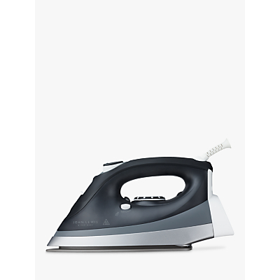 John Lewis Steam Iron, Black