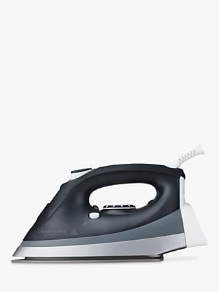 John Lewis & Partners Steam Iron, Black