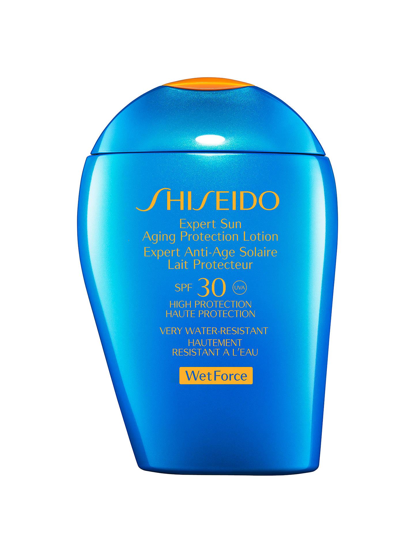 Shiseido Wetforce Expert Sun Aging Protection Lotion Spf 30 100ml Body Sp Buyshiseido Online At