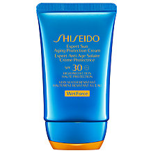 Buy Shiseido Wetforce Expert Sun Aging Protection Lotion SPF 30, 50ml Online at johnlewis.com