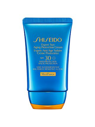 Shiseido Wetforce Expert Sun Aging Protection Lotion SPF 30, 50ml