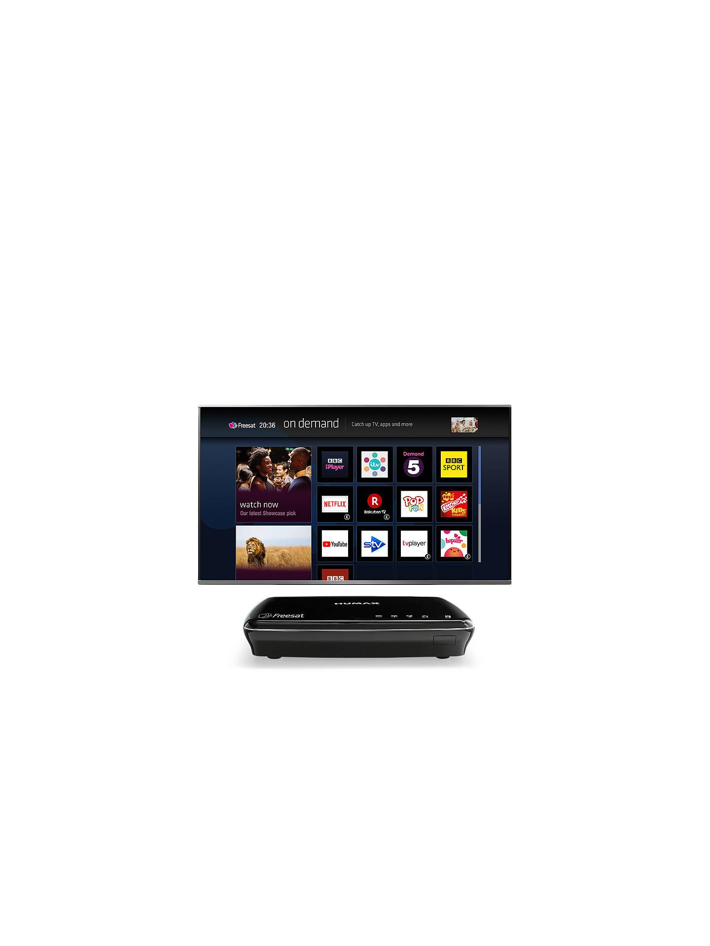Humax HDR-1100S Smart 500GB Freesat Digital TV Recorder, Black