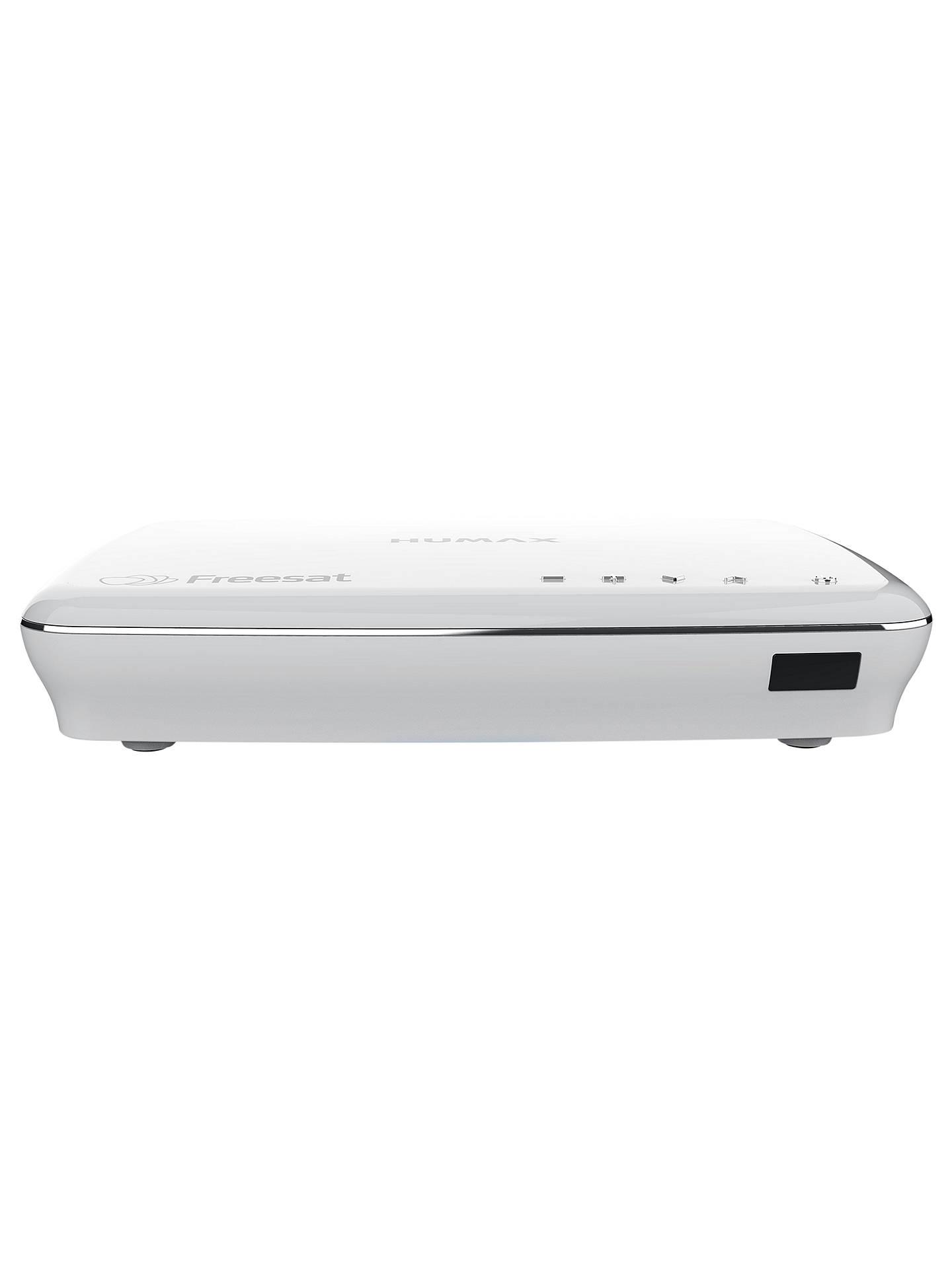 Humax HDR-1100S Smart 500GB Freesat Digital TV Recorder, White