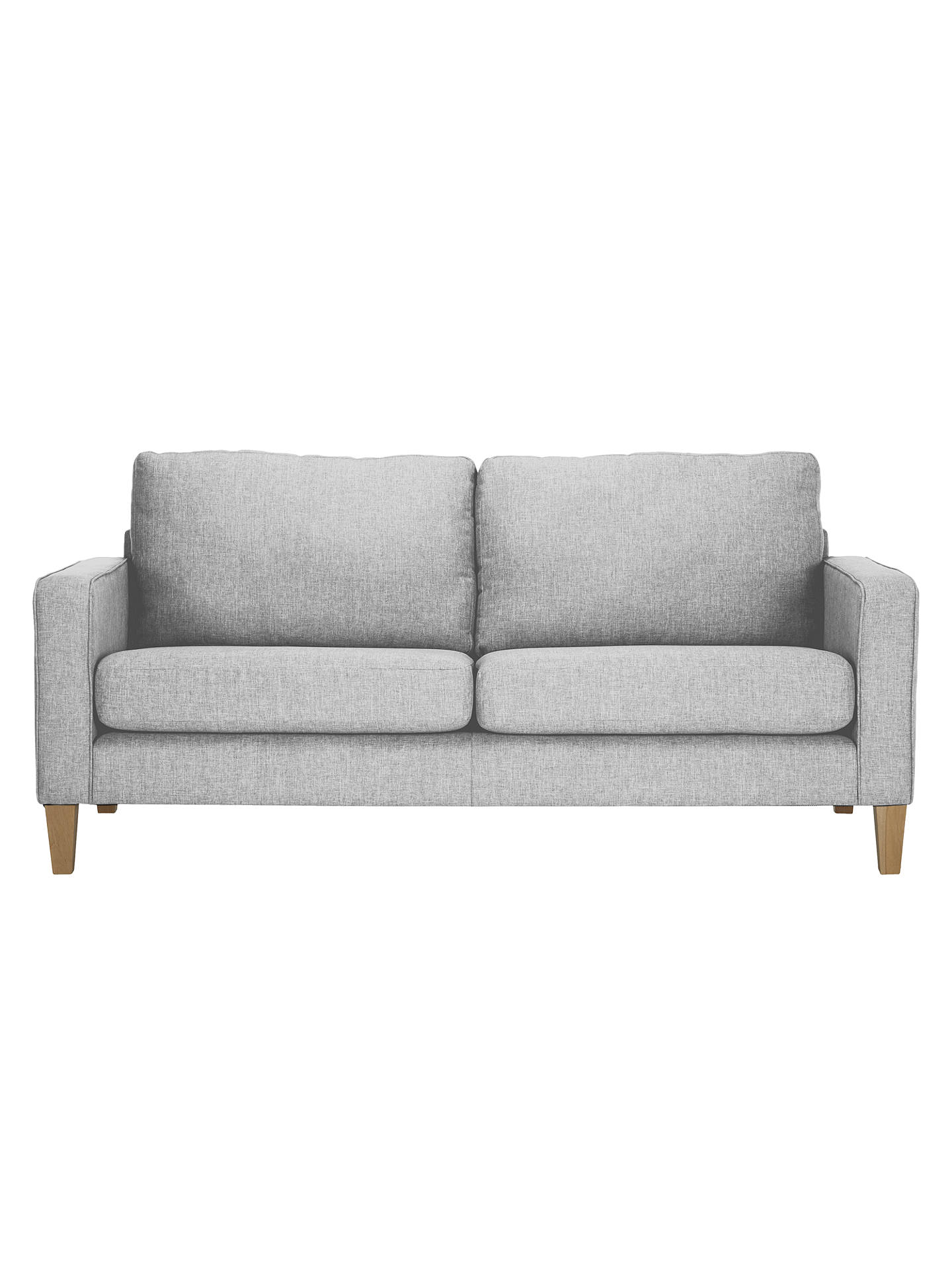 Superb John Lewis The Basics Jackson Large 3 Seater Sofa At John Ibusinesslaw Wood Chair Design Ideas Ibusinesslaworg