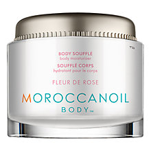 Buy Moroccanoil Rose Body Souffle, 190ml Online at johnlewis.com