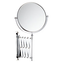 Buy John Lewis Bathroom Magnifying Mirror with Extending Arm Online at johnlewis.com