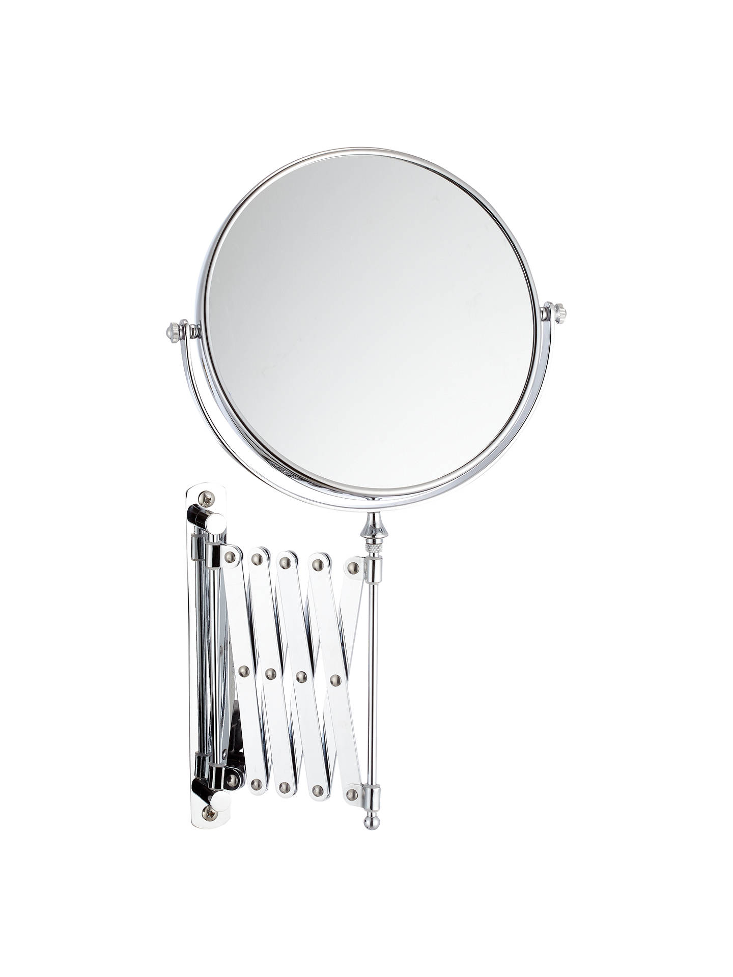 John Lewis Bathroom Magnifying Mirror with Extending Arm at John ...