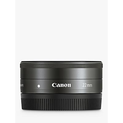 Image of Canon EF-M 22mm f/2 STM Pancake Lens with EF-M Mount