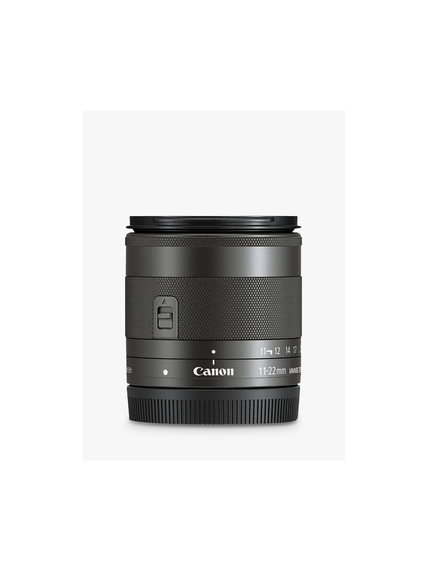 BuyCanon EF M 11-22mm f/4-5.6 Ultra Wide IS STM Lens Online at johnlewis.com