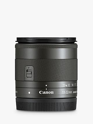 Canon EF M 11-22mm f/4-5.6 Ultra Wide IS STM Lens