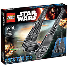 Buy LEGO Star Wars Kylo Ren's Command Shuttle Online at johnlewis.com