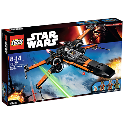 Image of LEGO Star Wars Poe's X-Wing Fighter