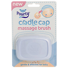 Buy Pourty Cradle Cap Brush Online at johnlewis.com