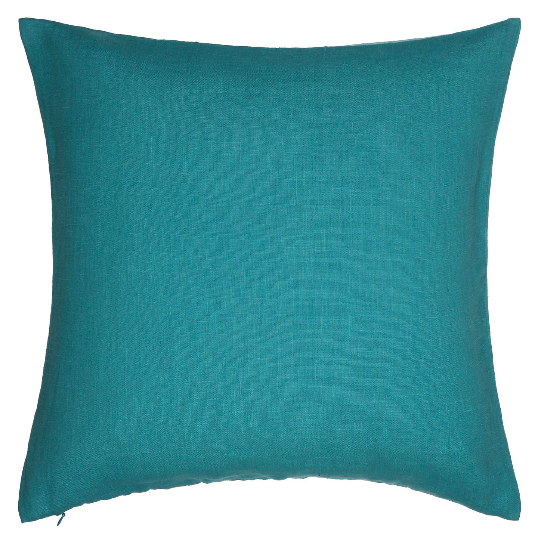 john lewis linen cushion dark spruce at john lewis. Black Bedroom Furniture Sets. Home Design Ideas