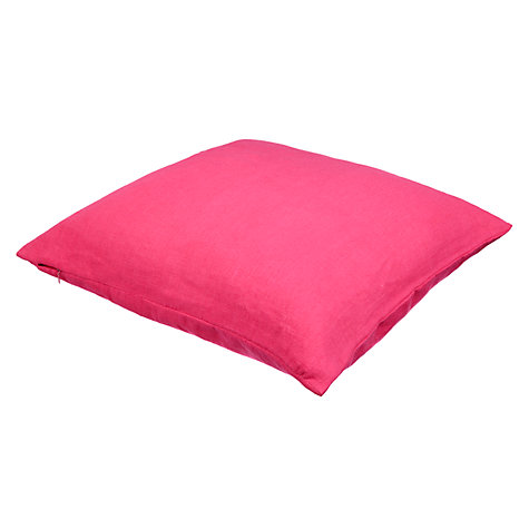 Buy John Lewis Linen Cushion Online at johnlewis.com