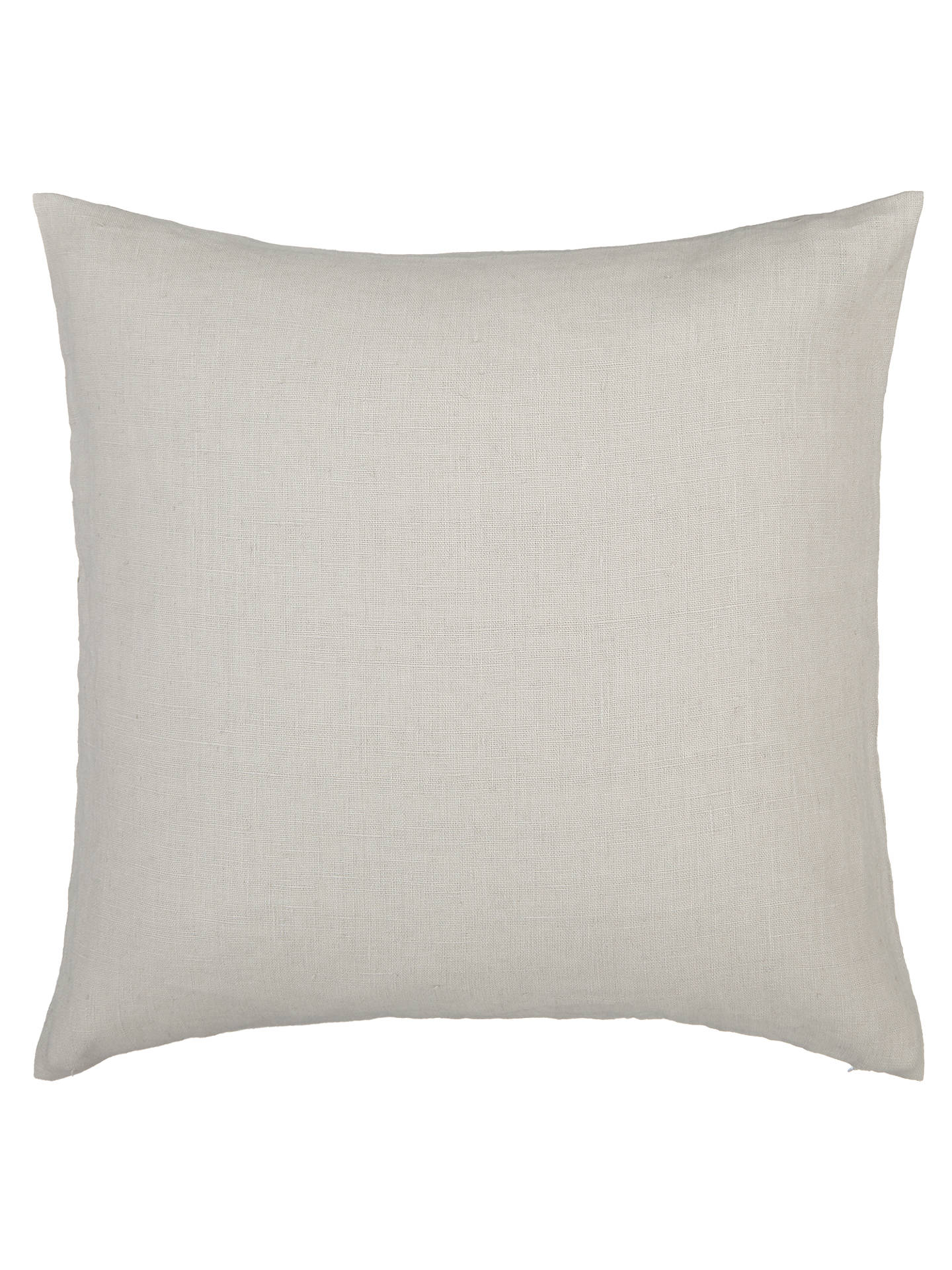 BuyJohn Lewis & Partners Linen Cushion, French Grey Online at johnlewis.com