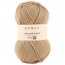 Buy Rowan Pure Wool Superwash Worsted Yarn, 100g Online at johnlewis.com