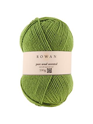Rowan Pure Wool Superwash Worsted Aran Yarn, 100g