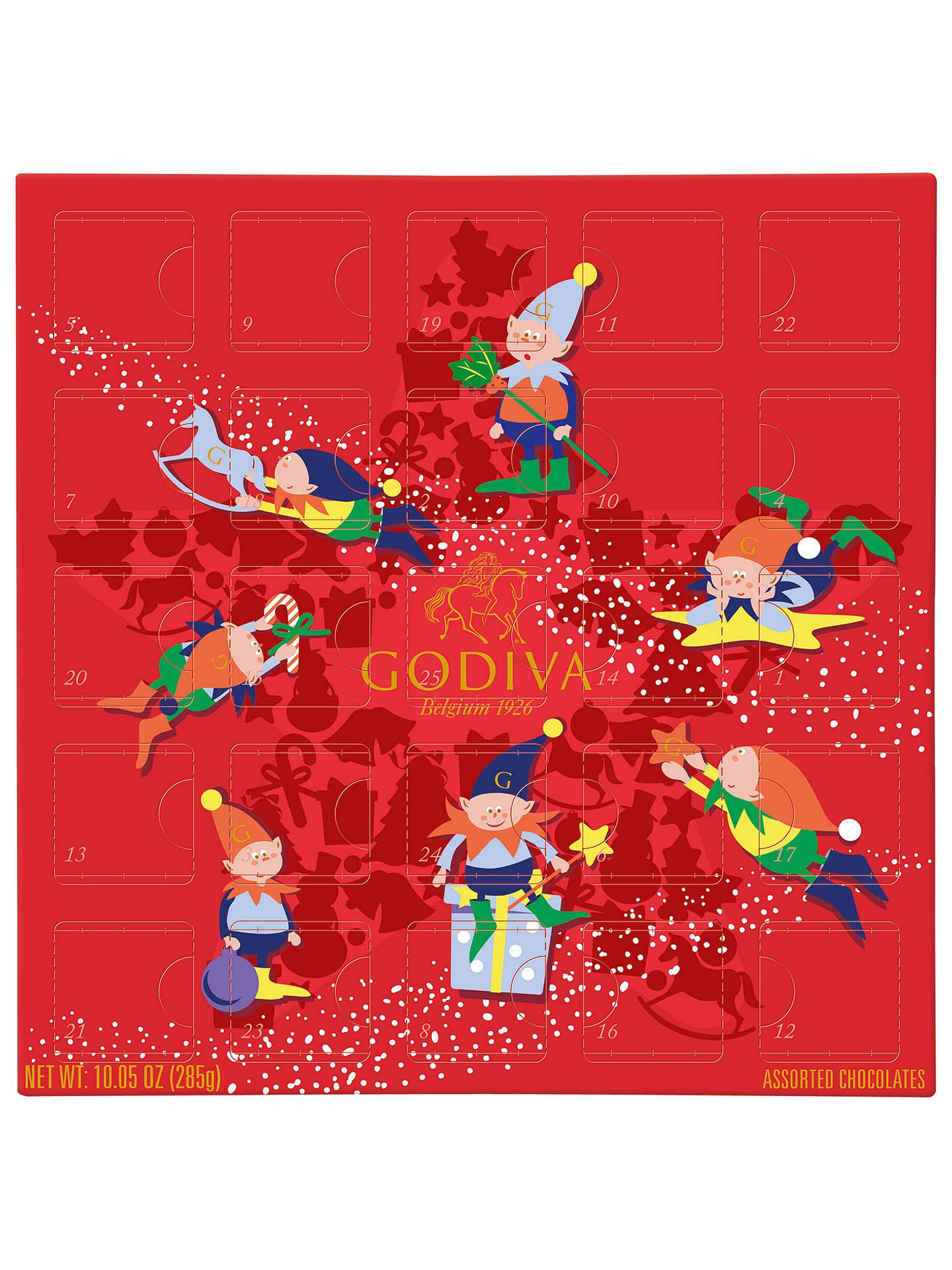 Godiva Advent Calendar.Godiva Advent Calendar At John Lewis Partners