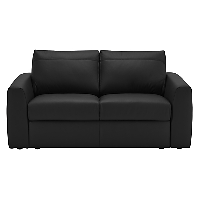 House by John Lewis Finlay II Small 2 Seater Leather Sofa