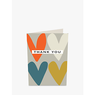 Image of Caroline Gardner Hearts Thank You Notecards, Pack of 10