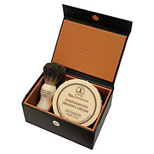 Buy Taylor of Old Bond Street Sandlewood Shaving Soap Set Online at johnlewis.com