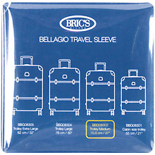 Buy Bric's 27-Inch Transparent Bellagio Trolley Cover, Clear Online at johnlewis.com