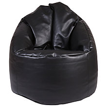 Buy John Lewis Wrap Bean Chair, Black Online at johnlewis.com